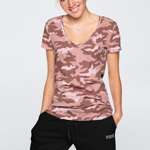 Perfect vneck tee by pink
